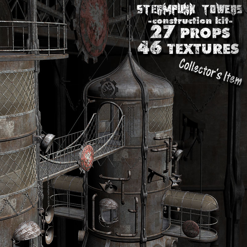 Steampunk Towers Construction Kit