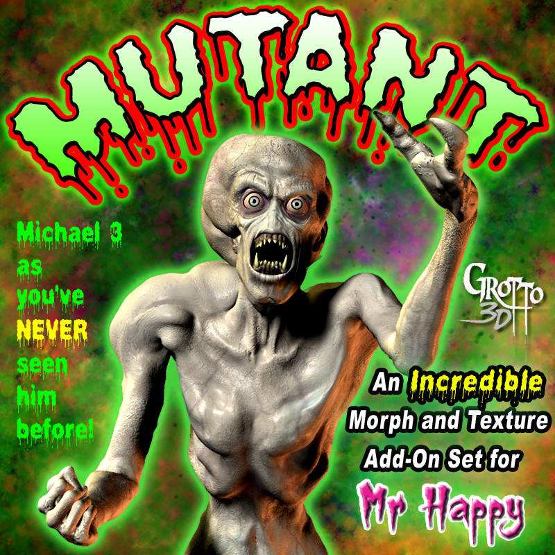 Mutant Add-On Pack for Mr. Happy-The Living Corpse