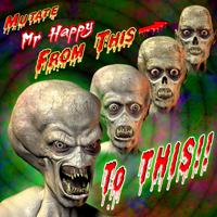 Mutant Add-On Pack for Mr. Happy-The Living Corpse image 1