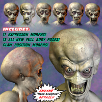 Mutant Add-On Pack for Mr. Happy-The Living Corpse image 3
