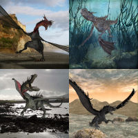 100 poses for Dragon Clutch  WhopperNnoonWalker-