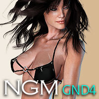 NGM for GND4 3D Figure Assets Posermatic