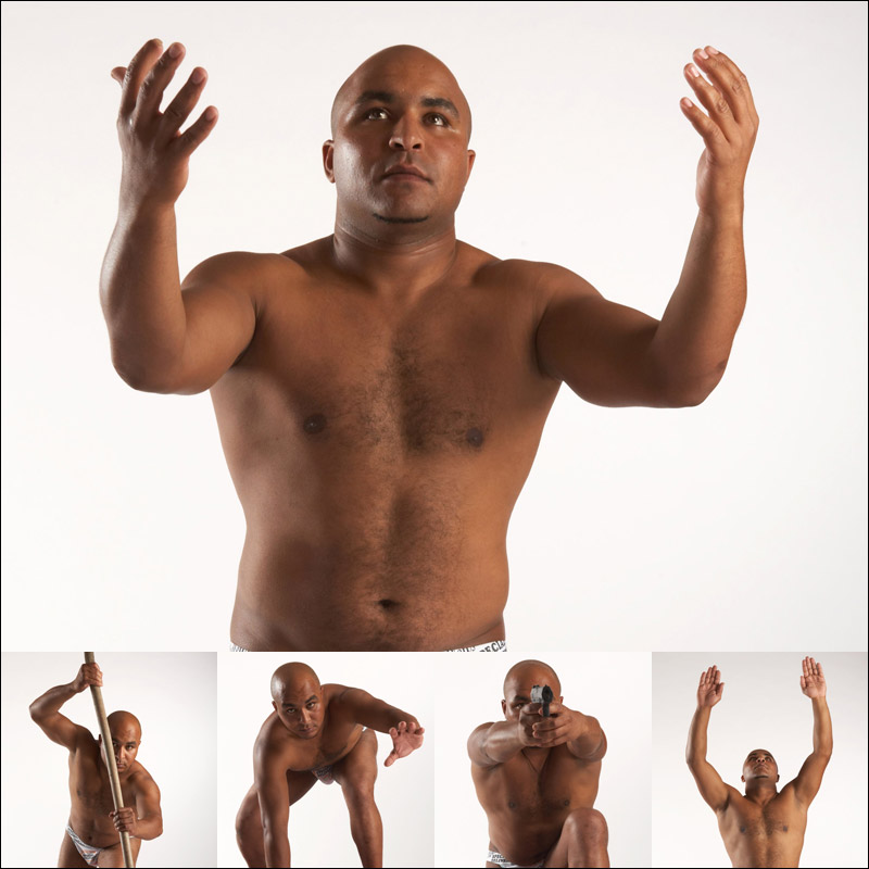Male nude reference photos