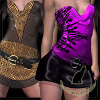 Delirious for Flirtatious Party Dress for GND4  kaleya