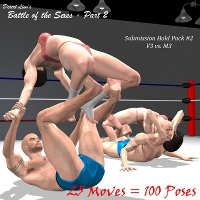 Battle of the Sexes Part 2 - M3/V3 Edition Poses/Expressions Desert_Lion