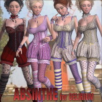 Absinthe for Delirium by Tipol