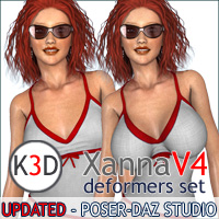 XannaV4 3D Figure Essentials kaposer