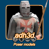 Templar Knight Themed Clothing adh3d