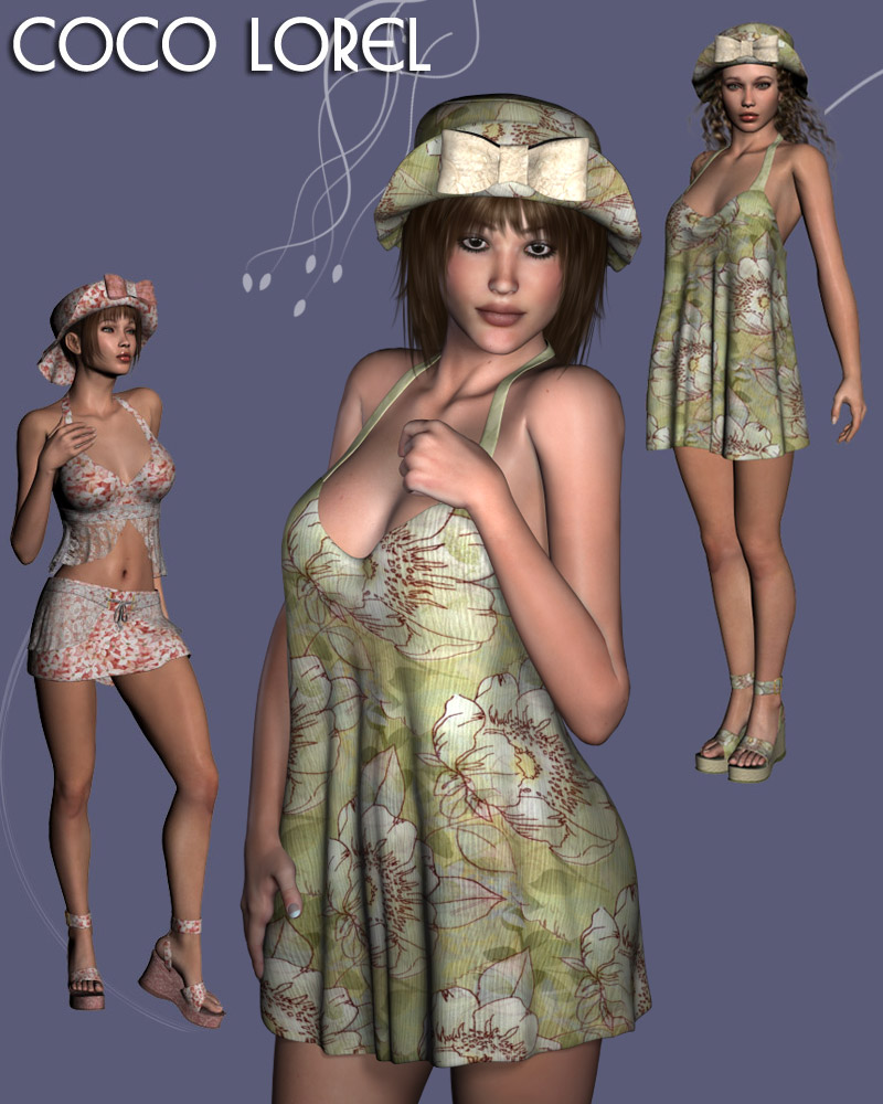 CoCo Lorel Sexy Apparel for V4