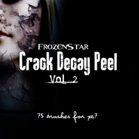 FS Crack Decay Peel 2 3D Models 2D FrozenStar