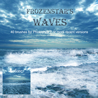FS Waves 3D Models 2D Graphics FrozenStar