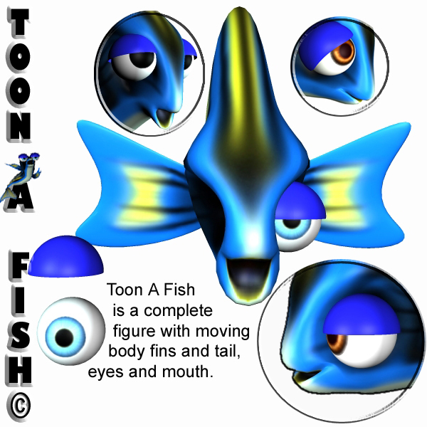 Toon A Fish