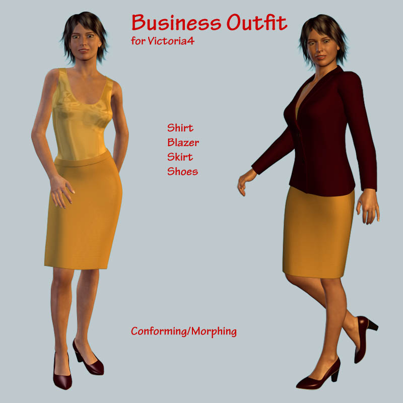 V4 Business Outfit
