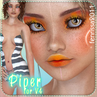 Piper V.2 for V4 3D Figure Essentials _Fenrissa_