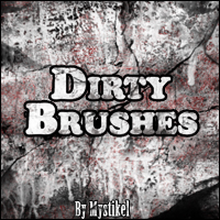 Dirty Brushes 2D Graphics mystikel