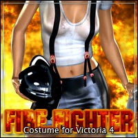 FireFighter: Costume for V4 Clothing outoftouch