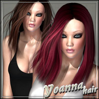 Yoanna Hair 3D Figure Essentials outoftouch
