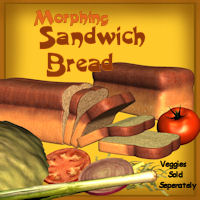 Sandwich Bread 3D Models pappy411