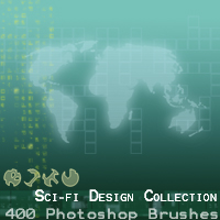 Sci-Fi Design Collection Themed 2D And/Or Merchant Resources designfera