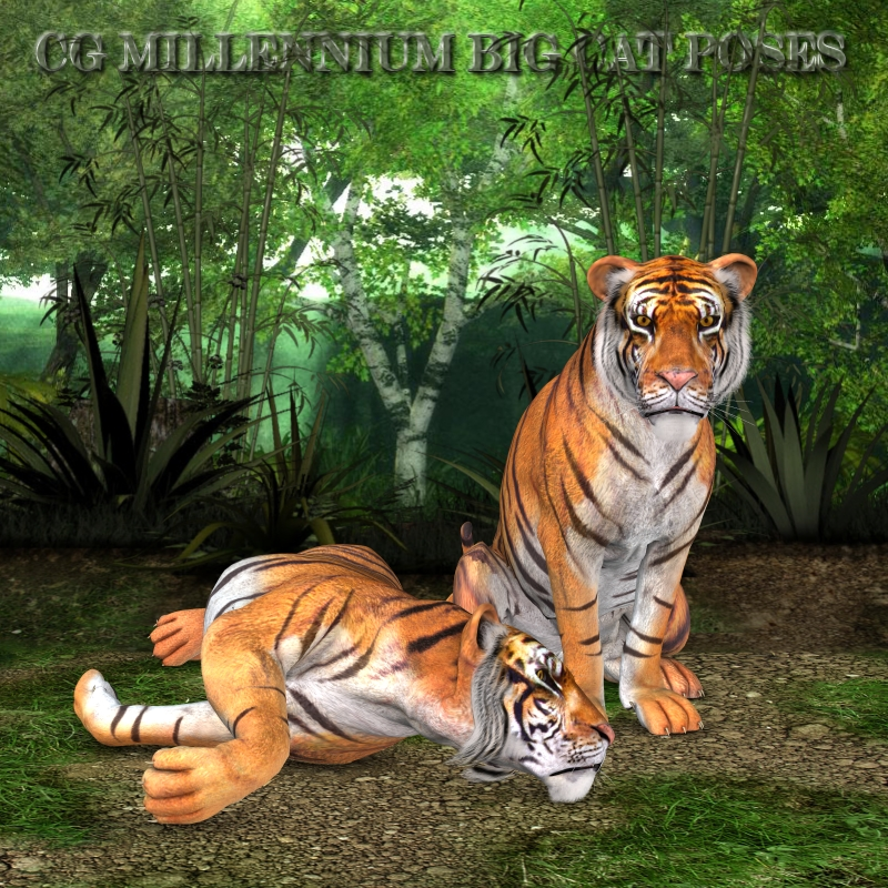 CG Mil Big Cat Poses