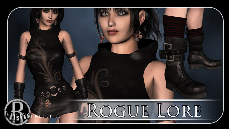 Rogue Lore Dress V4 & A4
