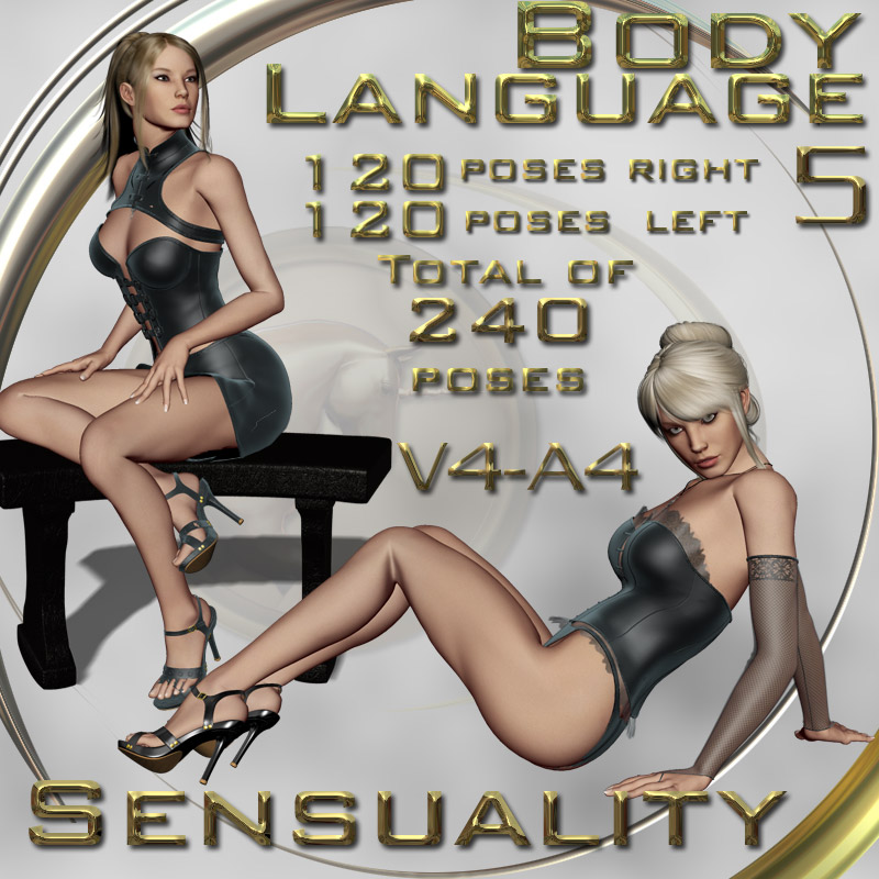 Body Language 5 - Sensuality- V4-A4