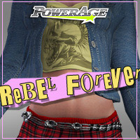 Rebel Forever V4/A4 3D Figure Assets 3D Models Legacy Discounted Content powerage