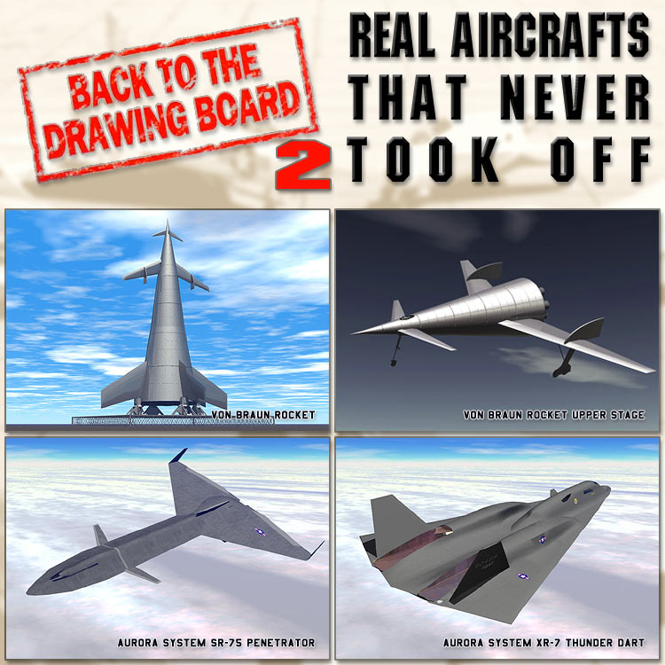 REAL AIRCRAFTS THAT NEVER TOOK OFF 2