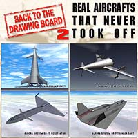 REAL AIRCRAFTS THAT NEVER TOOK OFF 2 3D Models duo