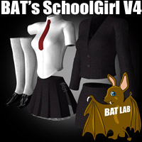 BAT's SchoolGirl V4 3D Figure Essentials BATLAB