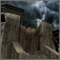 "Alcatras for ""The Myth - Prison"" by Mytilus Props/Scenes/Architecture Themed boundless"
