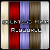 Countess Hair Resource 2D Countess