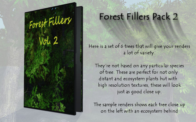 Forest Fillers Pack 2