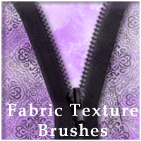 Fabric Texture Brushes 2D Graphics mystikel