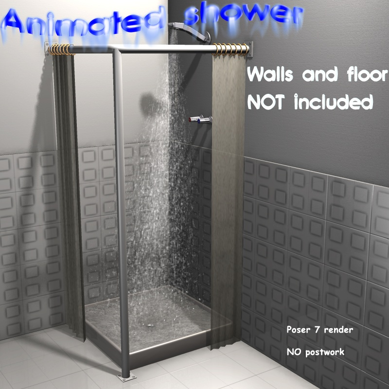 Animated Shower