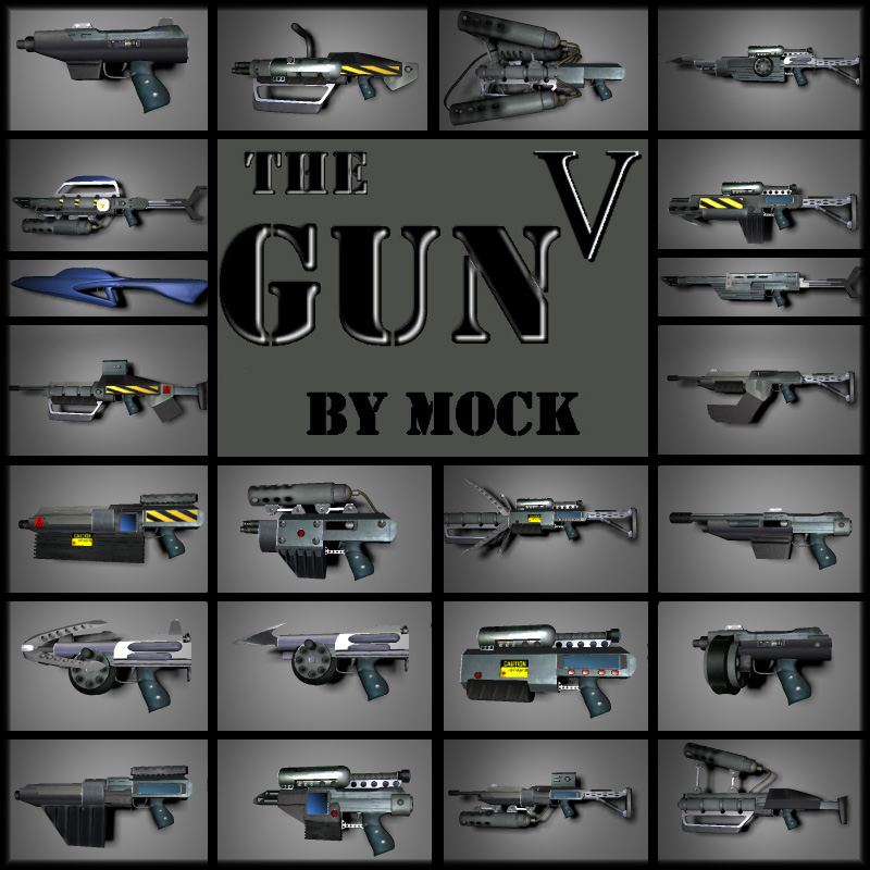 The Gun 5 by Mock