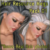 Hair Resource Megapack 01 by Propschick