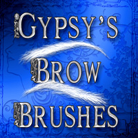 Gypsy's Brow Brushes 2D And/Or Merchant Resources gypsyangel