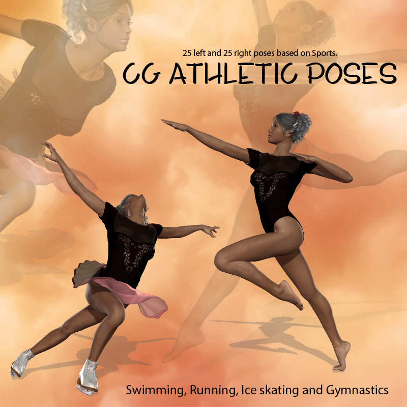 CG Olympic Poses