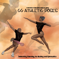 CG Olympic Poses 3D Figure Essentials ChristineG