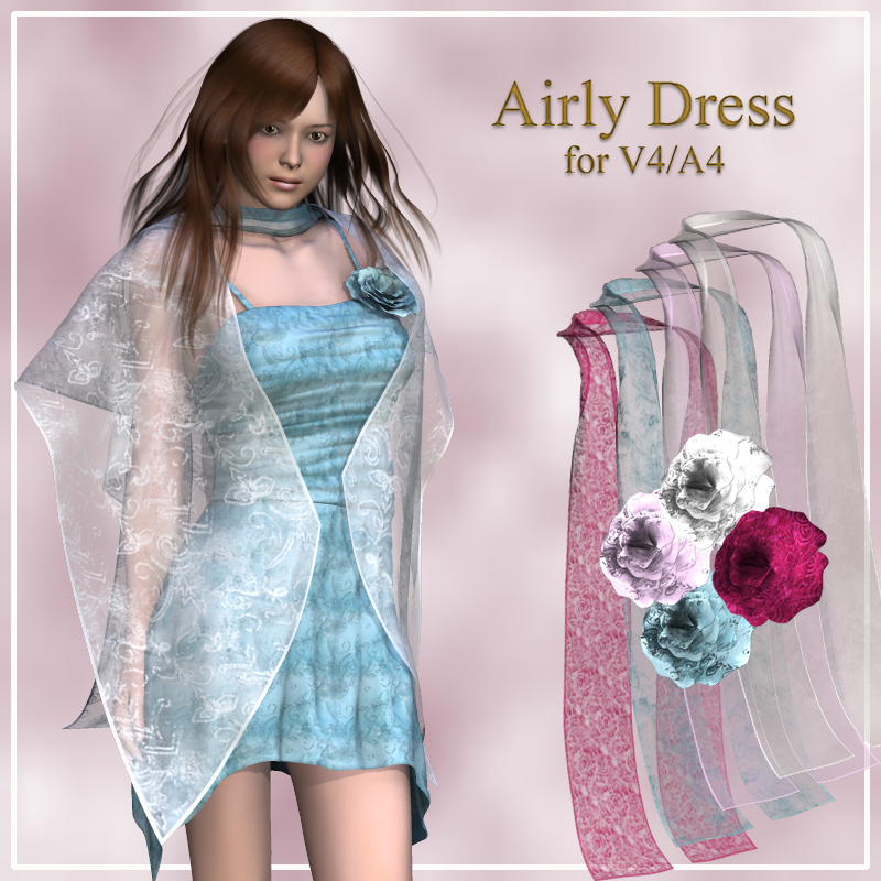 Airly dress for V4/A4