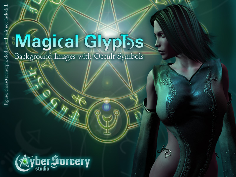 Magical Glyphs - Backgrounds