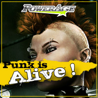 Punk is Alive ! 3D Figure Assets 3D Models Legacy Discounted Content powerage