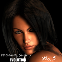 V4 Celebrity Series EVOLUTION: No.5 by adamthwaites Characters adamthwaites