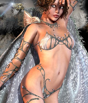 Sirens Revisited for AS-ClassicFantasy & the Hooded-Cloak 3D Models 3D Figure Essentials renapd