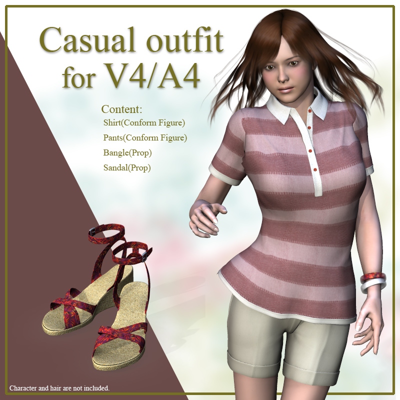 Casual outfit for V4/A4