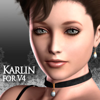 MH Karlin for V4 3D Models 3D Figure Essentials manihoni