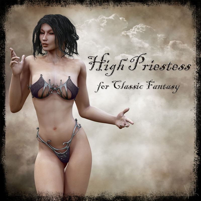 High Priestess for Classic Fantasy