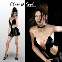 Chained Soul 3D Models 3D Figure Essentials Pretty3D