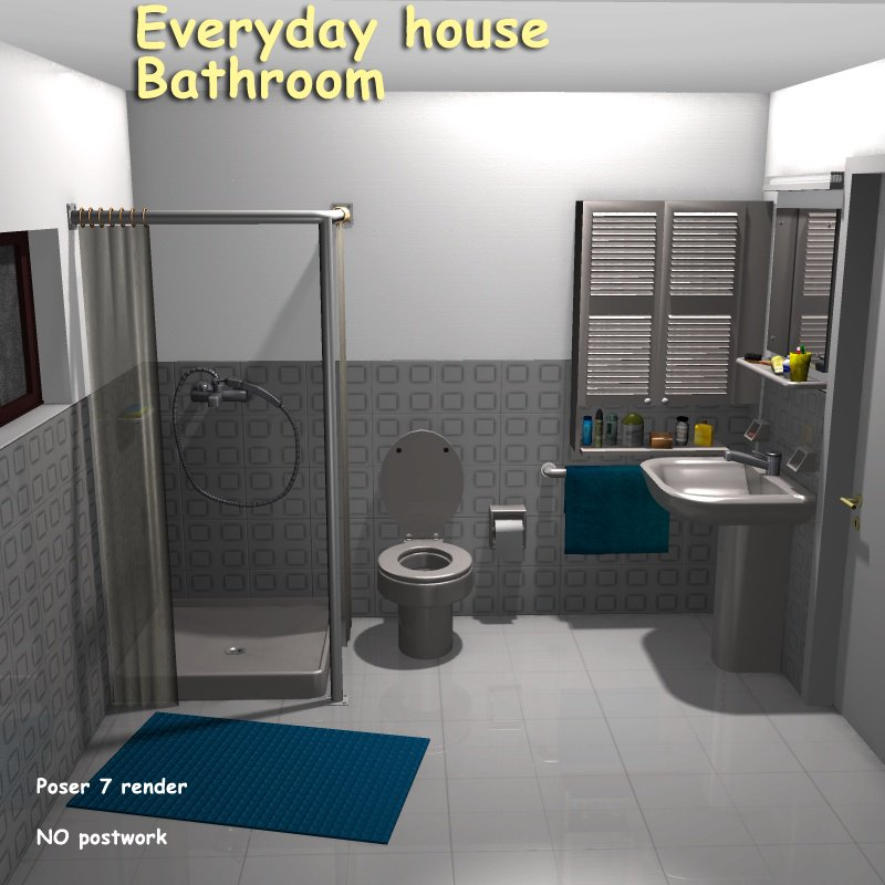 Everyday house - Bathroom